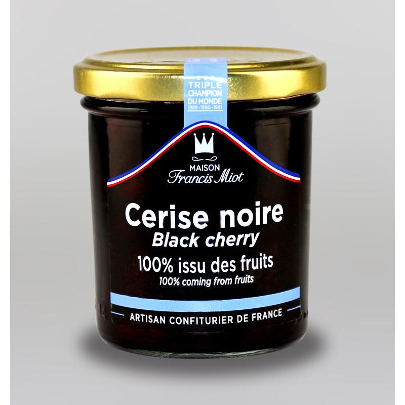 CONFITURE DE CERISE NOIRE 100 % ISSU DES FRUITS