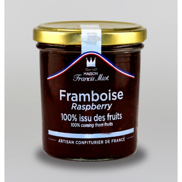 CONFITURE DE FRAMBOISE 100 % ISSU DES FRUITS