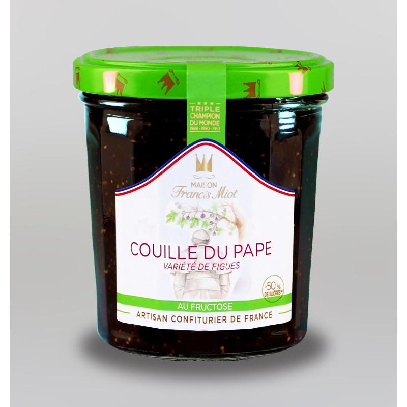 CONFITURE DE COUILLE DU PAPE AU FRUCTOSE