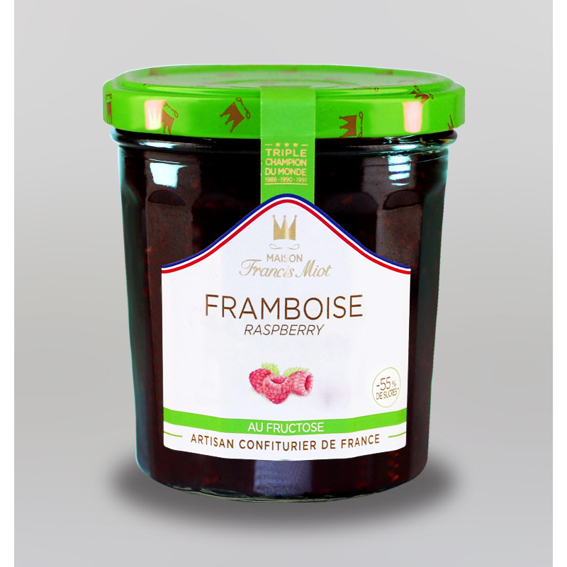 CONFITURE DE FRAMBOISE AU FRUCTOSE