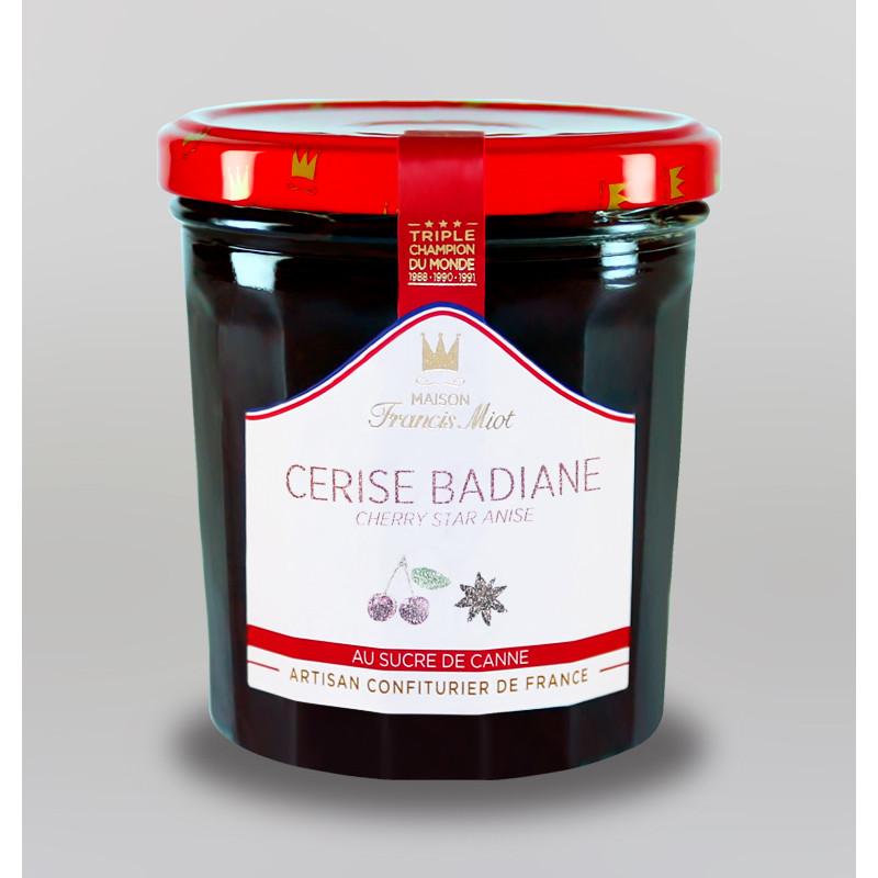 CONFITURE DE CERISE BADIANE AU SUCRE DE CANNE
