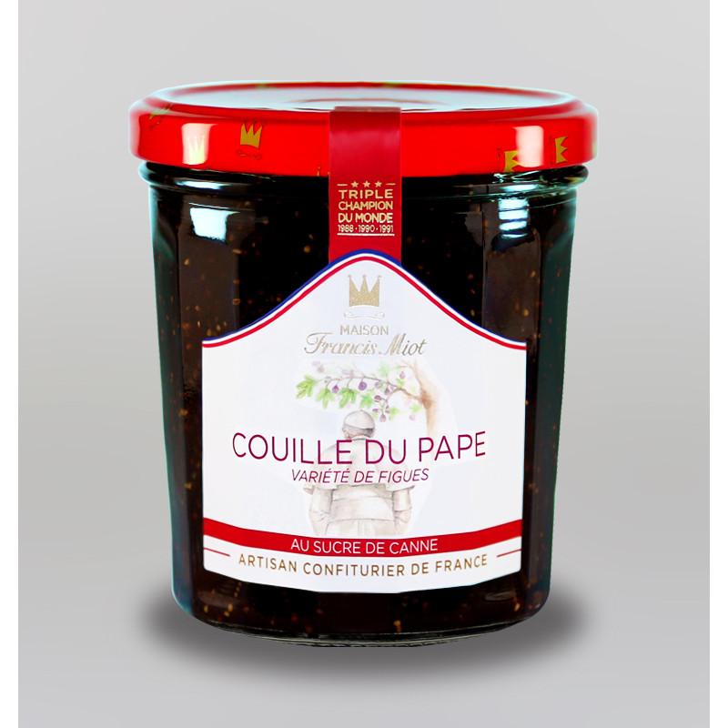 CONFITURE DE COUILLE DU PAPE AU SUCRE DE CANNE