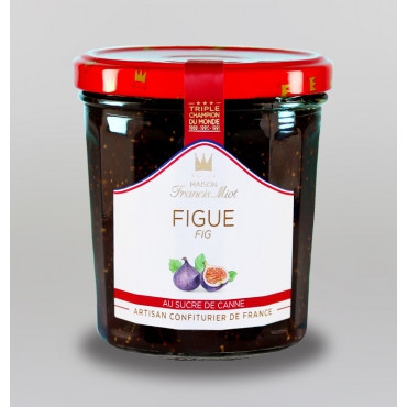 CONFITURE DE FIGUE AU SUCRE DE CANNE