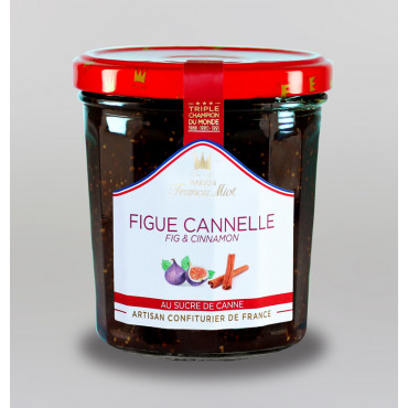 CONFITURE DE FIGUE & CANNELLE AU SUCRE DE CANNE