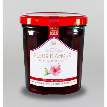 CONFITURE FLEUR D'AMOUR AU SUCRE DE CANNE