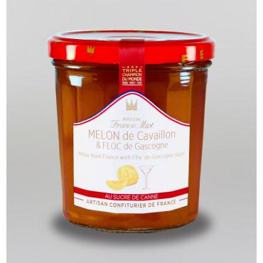 CONF. MELON AU FLOC DE GASCOGNE AU SUCRE DE CANNE