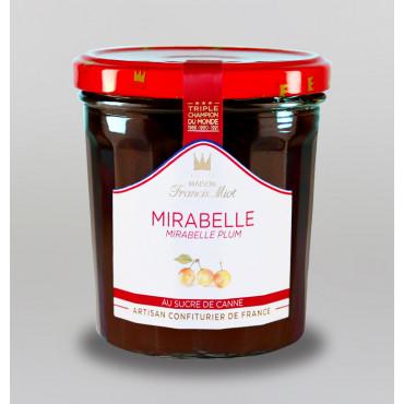 CONFITURE DE MIRABELLE AU SUCRE DE CANNE