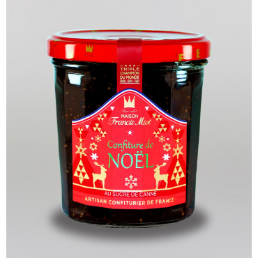 CONFITURE DE NOËL AU SUCRE DE CANNE