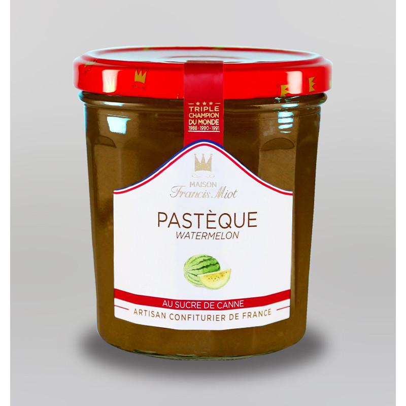 CONFITURE DE PASTEQUE AU SUCRE DE CANNE