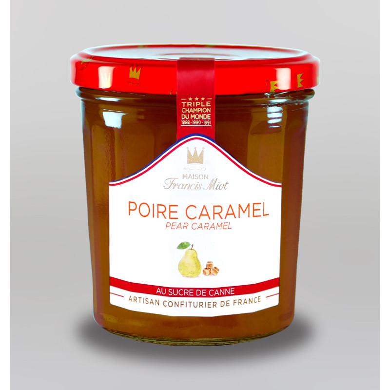 CONFITURE POIRE CARAMEL AU SUCRE DE CANNE