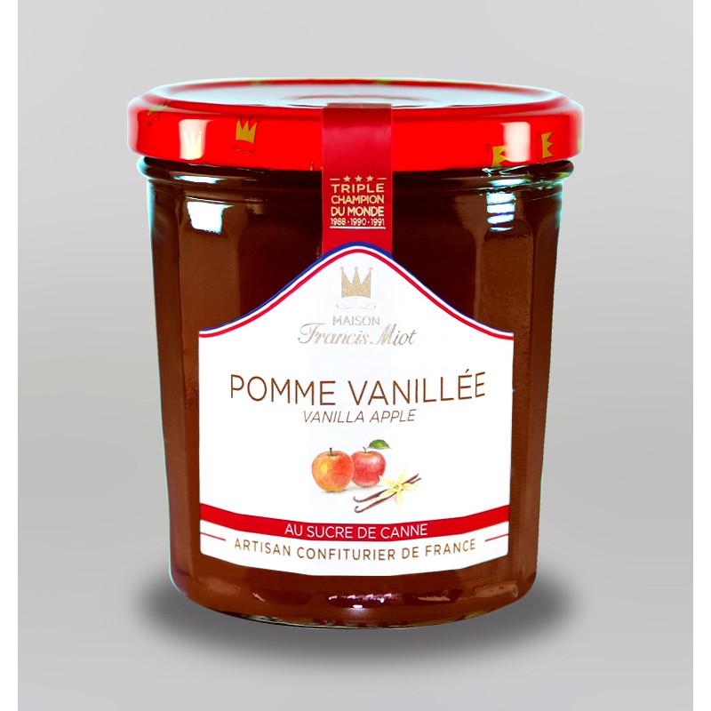 CONFITURE DE POMME VANILLEE AU SUCRE DE CANNE