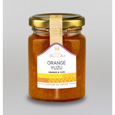 CONFITURE D'ORANGE YUZU AU SUCRE DE CANNE