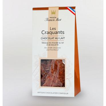 CRAQUANTS CHOCOLAT AU LAIT ET BISCUIT FIN