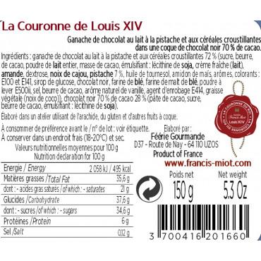 LES COURONNES DU ROI LOUIS XIV