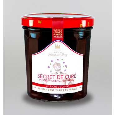 CONFITURE SECRET DU CURE AU SUCRE DE CANNE