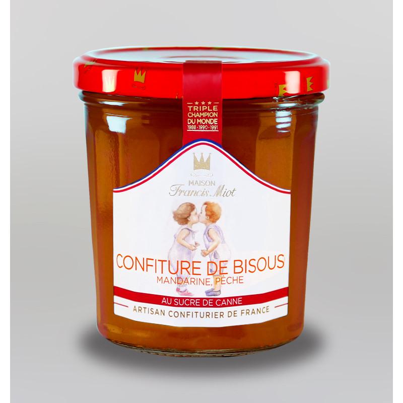 CONFITURE DE BISOUS AU SUCRE DE CANNE
