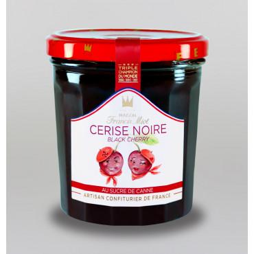 CONFITURE DE CERISE NOIRE AU SUCRE DE CANNE