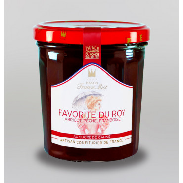 CONFITURE FAVORITE DU ROY AU SUCRE DE CANNE