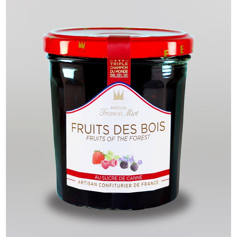 CONFITURE DE FRUITS DES BOIS AU SUCRE DE CANNE