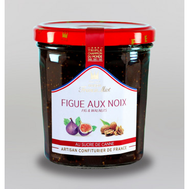 CONFITURE DE FIGUE AU NOIX