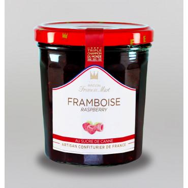 CONFITURE DE FRAMBOISE AU SUCRE DE CANNE