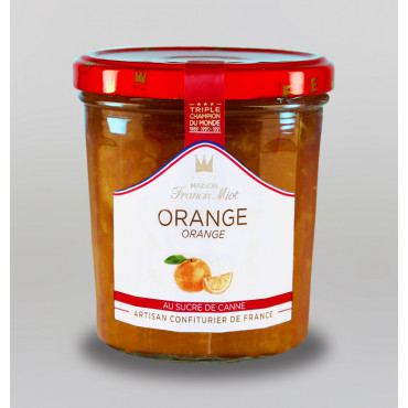 CONFITURE D'ORANGE AU SUCRE DE CANNE