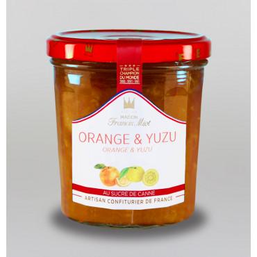 CONFITURE D'ORANGE YUZU AU SUCRE DE CANNE