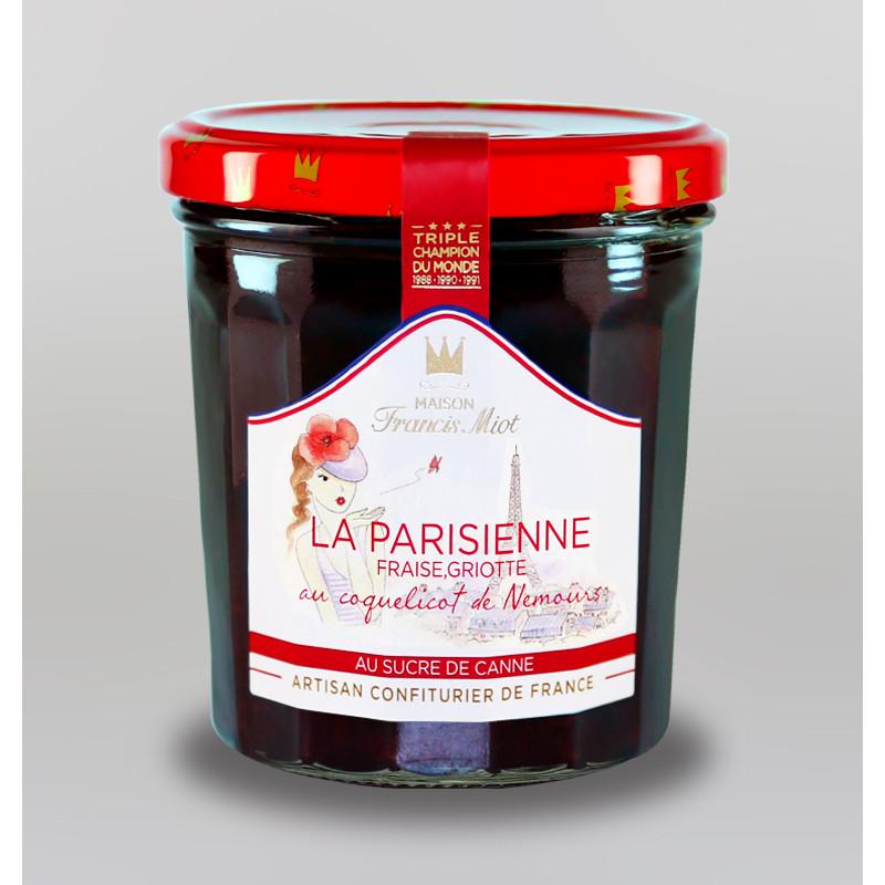 CONFITURE LA PARISIENNE AU SUCRE DE CANNE