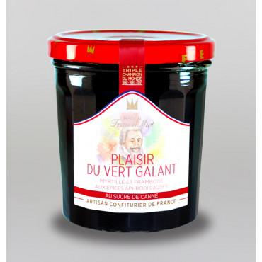 CONFITURE VERT GALANT AU SUCRE DE CANNE