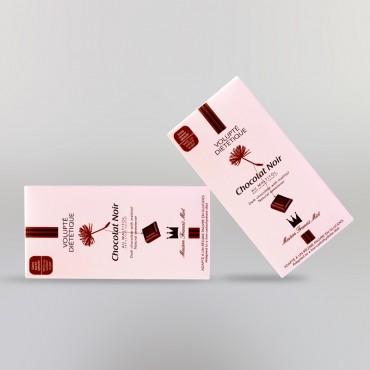 CHOCOLAT NOIR DIETETIQUE (SANS SUCRE AJOUTE)
