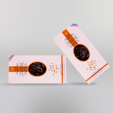 CHOCOLAT NOIR AU SESAME DORE