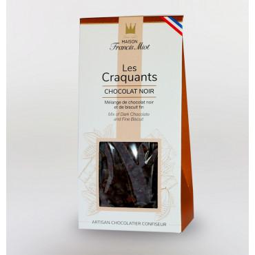 CRAQUANTS CHOCOLAT NOIR ET BISCUIT FIN