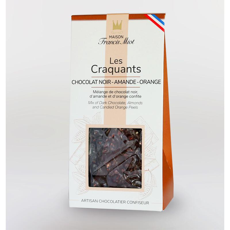 CRAQUANTS CHOCOLAT NOIR - AMANDE - ORANGE