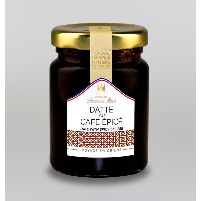 CONFITURE DE DATTE AU CAFE EPICE AU SUCRE DE CANNE