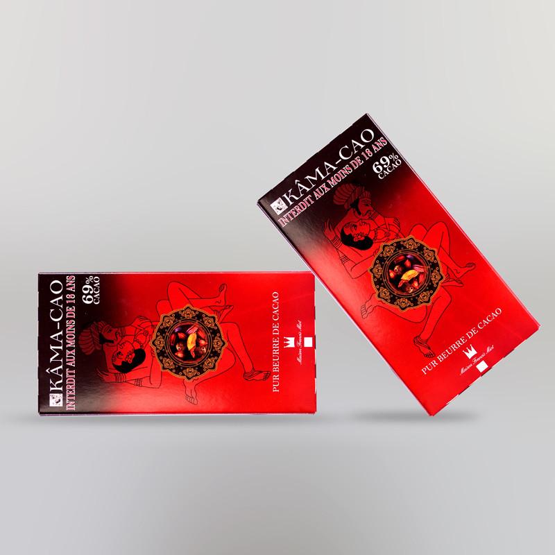 CHOCOLAT NOIR KAMACAO (70% DE CACAO)