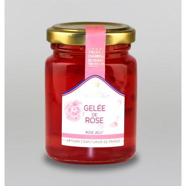 GELEE DE ROSE AU SUCRE DE CANNE
