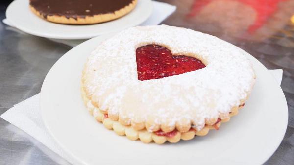 Maison Francis Miot recette sablé confiture fraise