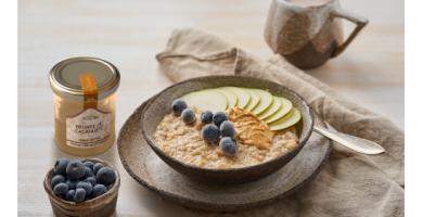 Recette de porridge au beurre de cacahuète de la Maison Francis Miot